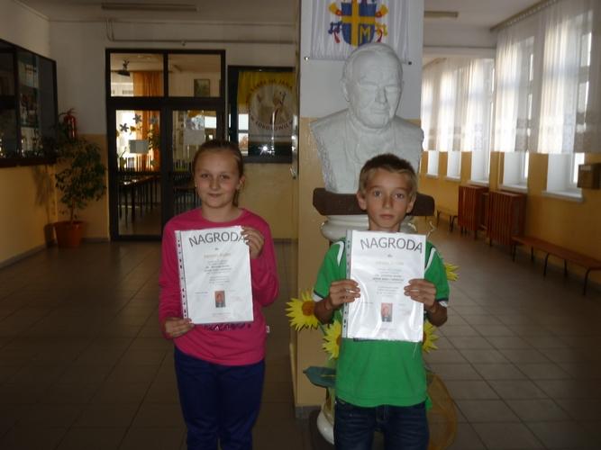 nagrodzeni- A. Kwolek i A. Drozd