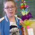 Agnieszka i jej palma wielkanocna